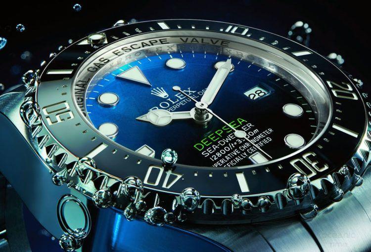 Rolex Deepsea D-Blue Dial Diver Watch