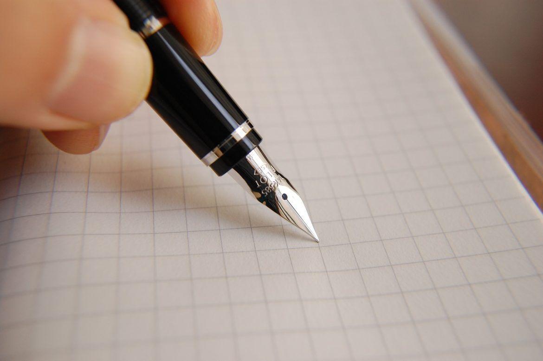 como escribir con pluma estilográfica