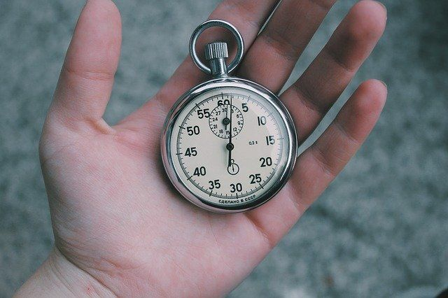 Escape de un reloj