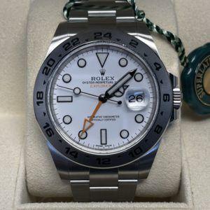 Rolex Explorer II vista frontal