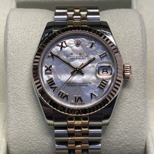 ROLEX DATEJUST vista frontal