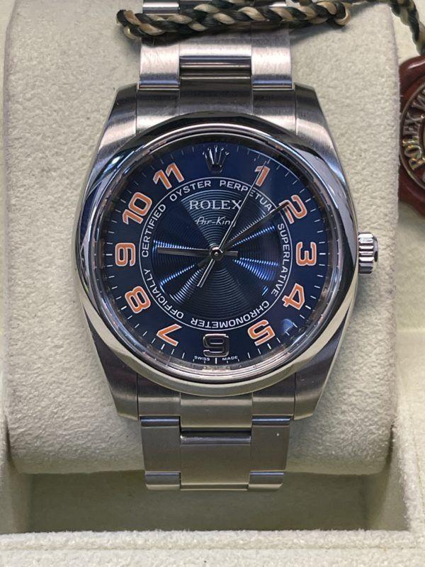 Rolex Airking en ocasión