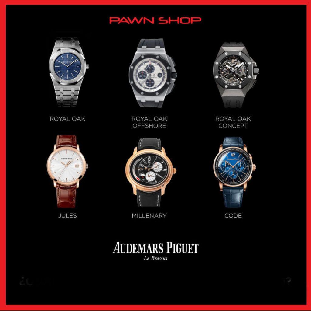 Relojes Suizos Audemars Piguet