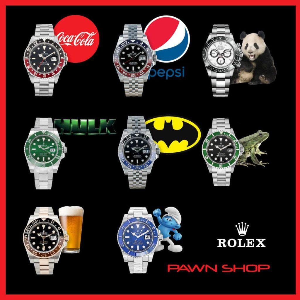 tipos relojes Rolex